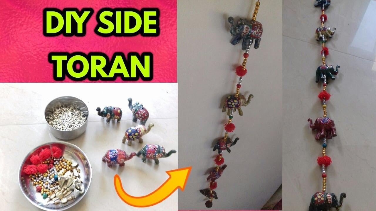 Toran idea|Handmade door hangings |coor hangers |door hanging ...