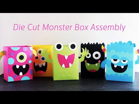 Monster Bag Box Cut Files Assembly Instructions