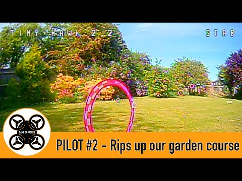Фото Game of Drones - Pilot #2 FPV and Tinyhawk 2 rips up our garden course