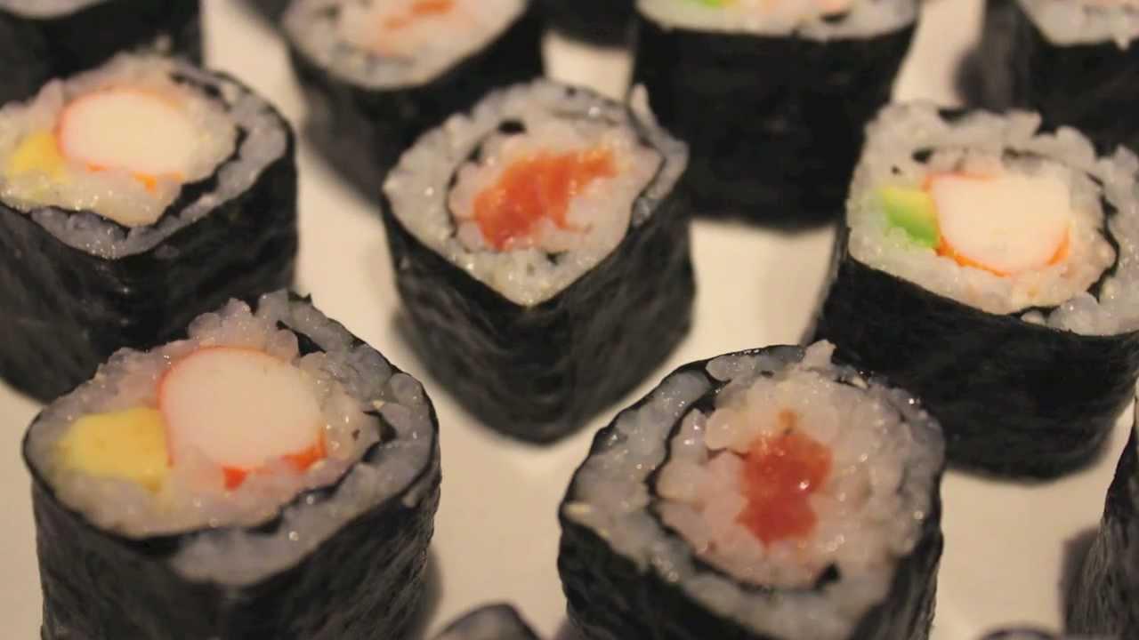 C mo hacer sushi casero f cil receta para preparar el for Como hacer arroz para sushi