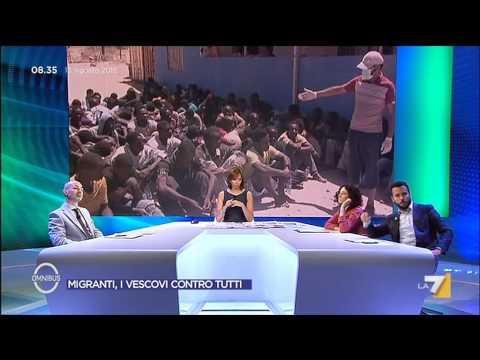 Omnibus - Migranti, i vescovi contro tutti (Puntata 13/08/2015)
