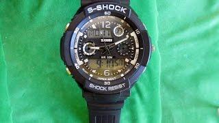 замена батарейки в часах SKMEI 0931 S-SHOCK