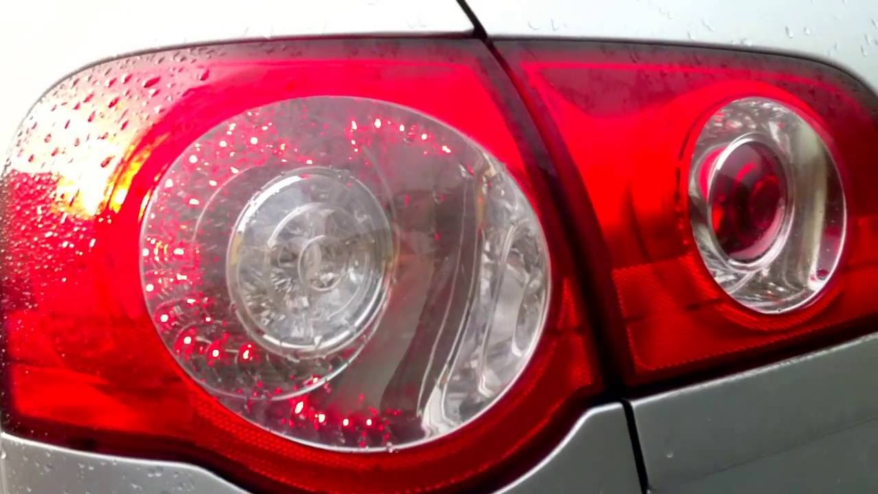 Vw Passat Tail Lights U S Style Youtube