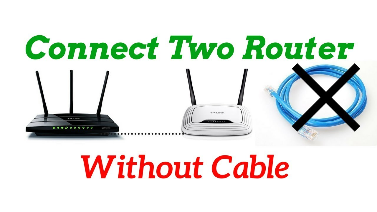 How Connect Two Wifi Router Without Cable Wds Settings 100