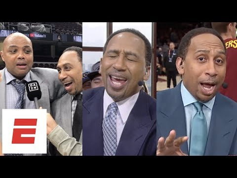 Stephen A. Smith's best rants, interviews and moments from the 2018 NBA Finals | ESPN