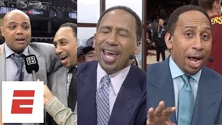 Stephen A. Smith's best rants, interviews and moments from the 2018 NBA Finals   ESPN