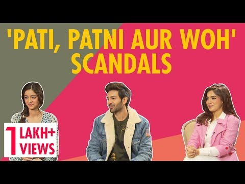 Did Bhumi Just Confirm Kartik & Ananya Are Dating? |  Pati Patni Aur Woh Mp3