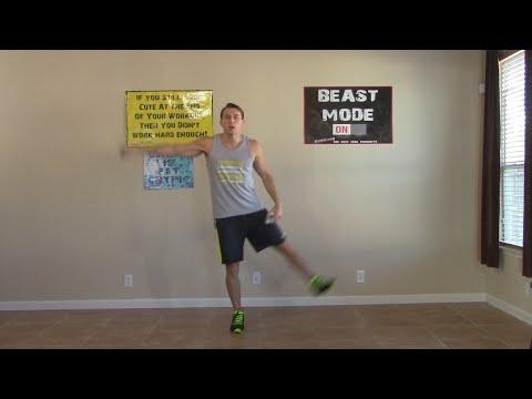 30 min low impact cardio exercises  abs  hasfit beginner