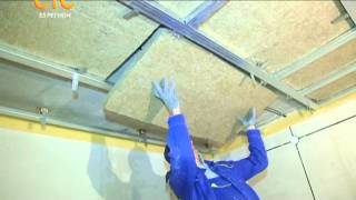 видео Из чего делается звукоизоляция потолка в квартире