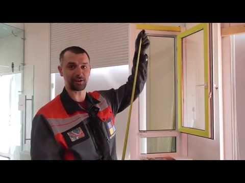 Правильный замер москитной сетки на окно