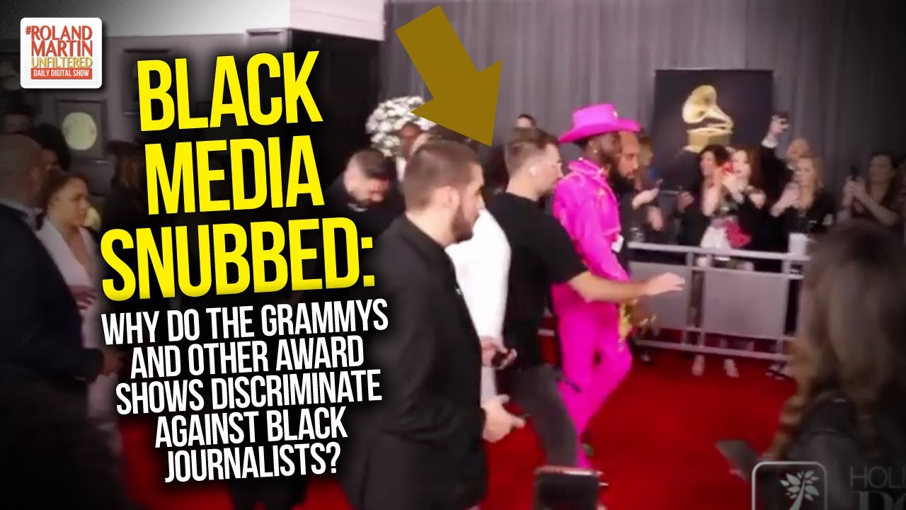 Black Media Snubbed: Why Do The Grammys & Other Award Shows Discriminate Against Black Journalis