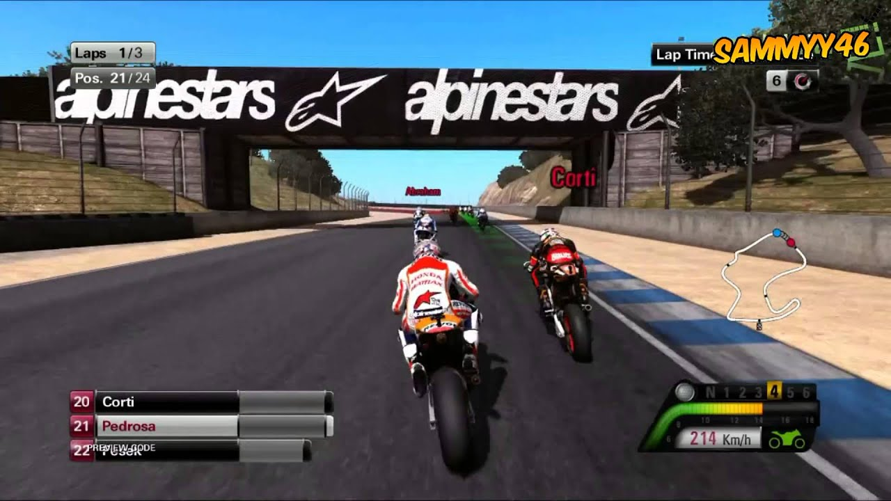 Motogp  Gameplay Footage Hd Rossi And Pedrosa Full Game Out June St  Youtube
