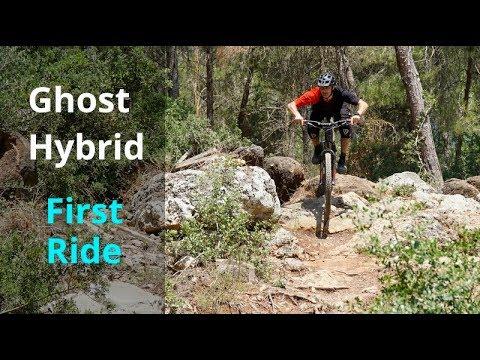 First Ride Ghost Hybrid 3.7