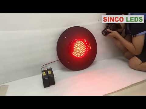 solar powered warning lights