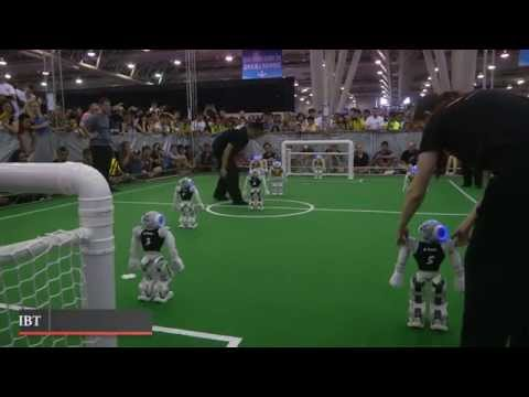 RoboCup 2015: Australian team crowned robot football world champions at competition in China