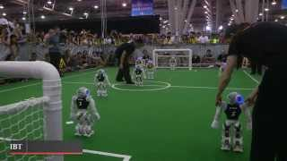 RoboCup 2015: Australian team crowned robot football world champions at competition in China(An Australian university team has been crowned robot world cup champions at the 19th RoboCup games in China after their team of automatons battled its way ..., 2015-07-23T11:05:00.000Z)