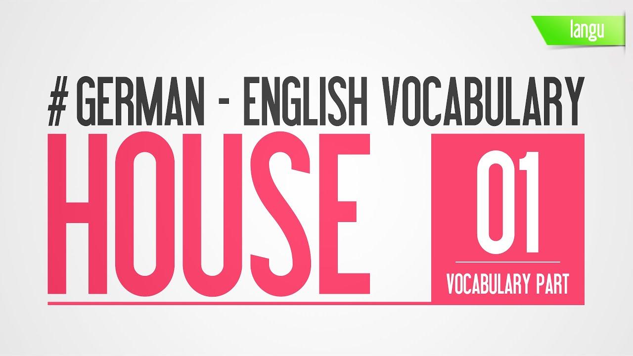 German To English Vocabulary