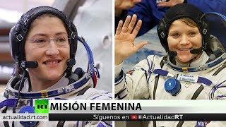 Dos mujeres realizarán una caminata espacial juntas por primera vez en la historia