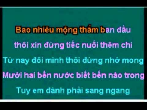 Karaoke LK Doi Nga Chia Ly - Phan Gai Thuyen Quyen (feat voi GMV)_xvid.mp4