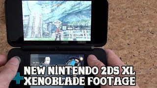 [New Nintendo 2DS XL] Xenoblade Chronicles 3D footage