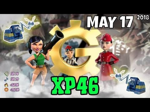 Boom Beach War Factory (XP46) Unboosted - May 10/2018