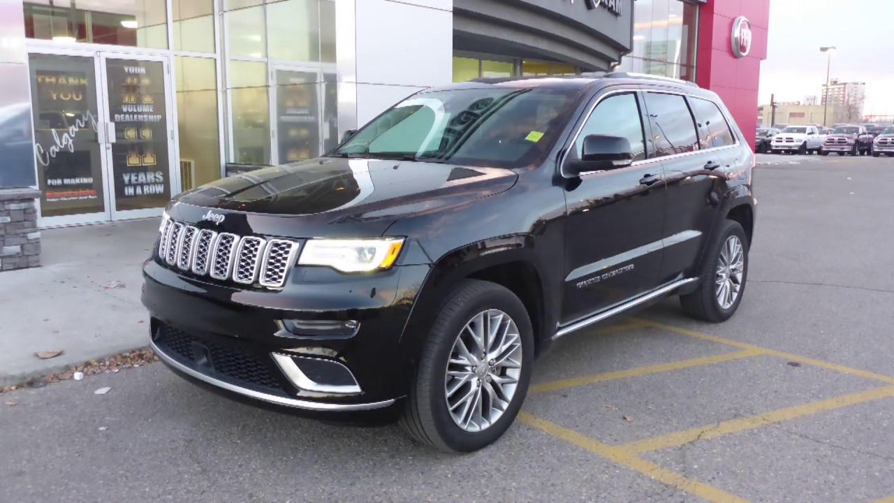 2017 Jeep Grand Cherokee Summit for Amidou - Eastside Dodge ...