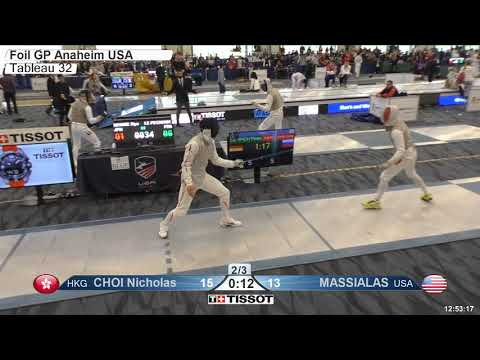 2018 140 T32 03 M F Individual Anaheim USA GP BLUE LE PECHOUX FRA vs MIYAKE JPN