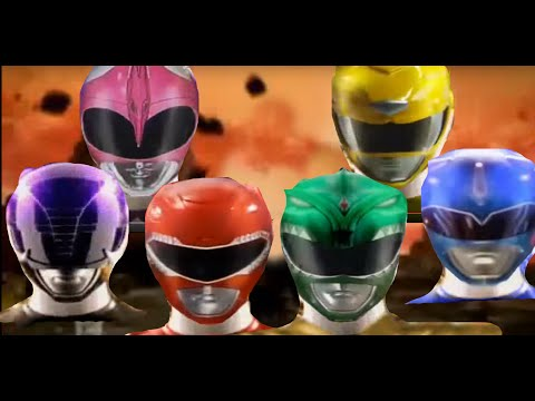Revamped MMPR Morphing Sequence