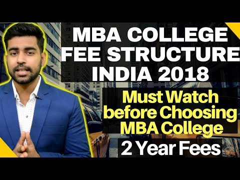 MBA College Fee Structure in INDIA | Top MBA College India  |IIM Fees