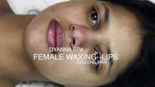 Repeat youtube video Facial Hair Removal Manhattan | Lip Waxing for Women in New York (Azulene Wax)