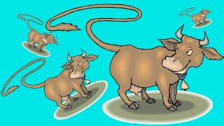 """""""How To Draw A Cow Jumping""""◆◆◆How To Draw A Cow Easy Step By Step Easy