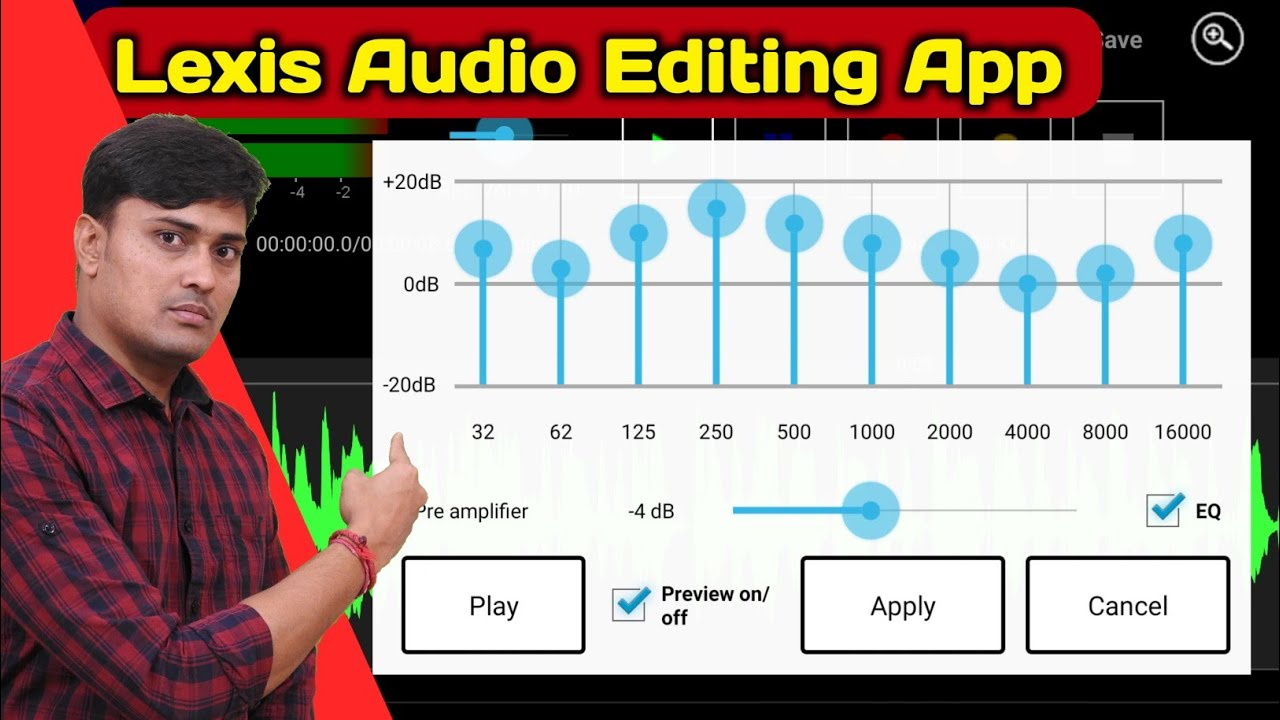 Best Audio Editing App For Android Lexis Audio Editor Best Audio Recording App Lexis In 2020 Youtube