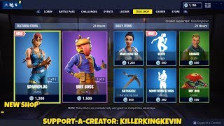 NEW SLICK EMOTE + DURR BURGER SKIN: Fortnite Item Shop