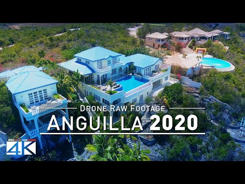 【4K】Drone RAW Footage | This is ANGUILLA 2020 | Caribbean | Shoal Bay and More | UltraHD Stock Video