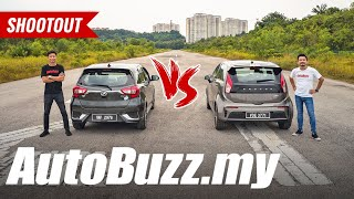 Drag Race: Perodua Myvi vs Proton Iriz - AutoBuzz.my