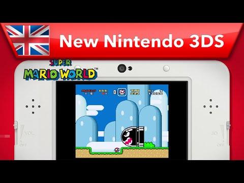 New Nintendo 3DS - Super Nintendo joins Virtual Console!