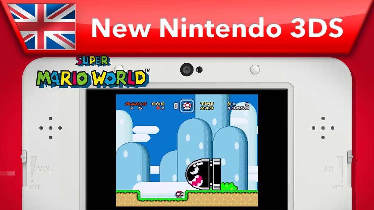 New Nintendo 3DS - Super Nintendo joins Virtual Console! - YouTube on