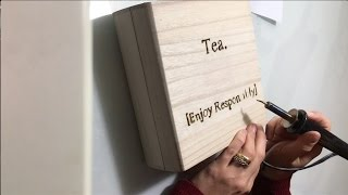 DIY Holiday Gifts: How to do Custom Wood-Burning