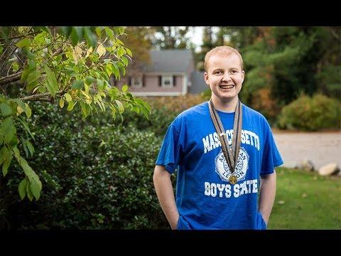 Massachusetts teen holds nothing back at Boys State