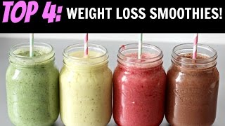 BEST HOMEMADE SMOOTHIES FOR WEIGHT LOSS!
