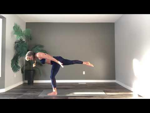 Intermediate Advanced Mat Pilates Flow with Trainer Fiona Hermanutz