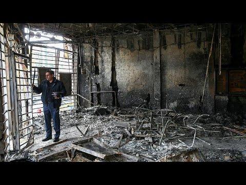 شاهد: الدمار الذي خلفته احتجاجات إيران بعد قرار السلطات زيادة أسعار البنزين…  - نشر قبل 3 ساعة