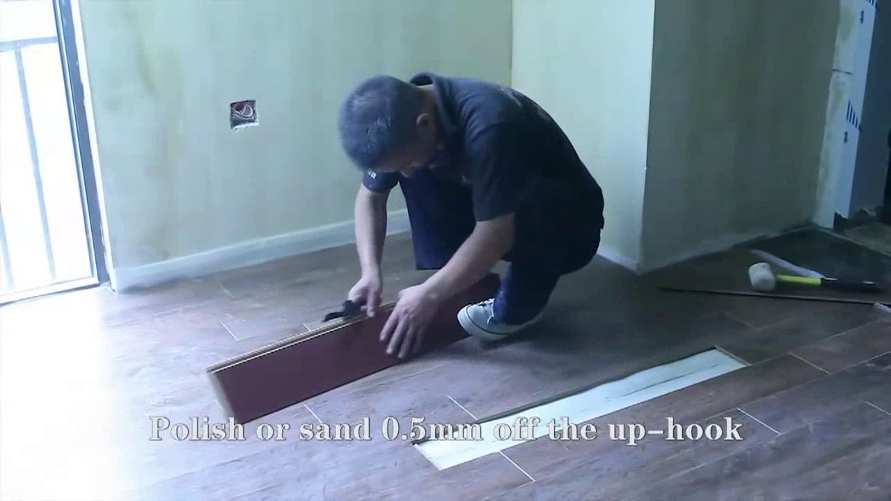 How to replace a damaged floor panel - YouTube