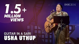 Usha Uthup: Guitar in a sari