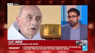 Attentat contre une église que faire du salafisme en France par Asif Arif