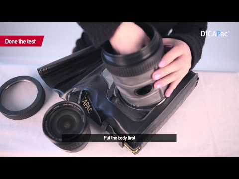 [DiCAPac] How to use Dicapac waterproof case for camera