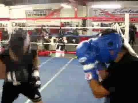 Miguel Vazquez Sparring and Interview