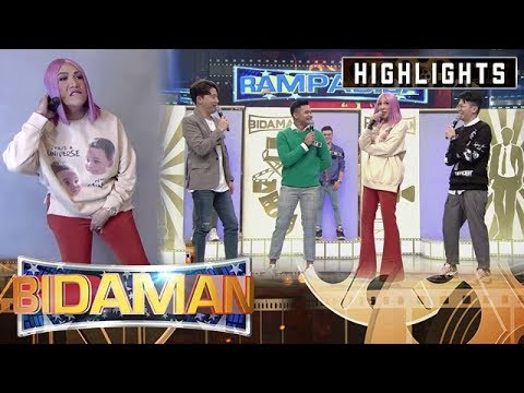 Ryan, Vhong and Vice Ganda show off their posing skills | It's Showtime BidaMan