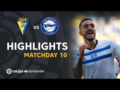 Cadiz Alaves Goals And Highlights