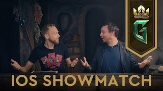 gWENT: The Witcher Card Game  iOS Showcase & Showmatch